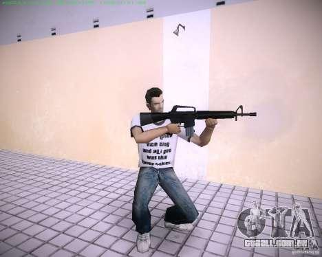 Nova M4 para GTA Vice City segunda tela
