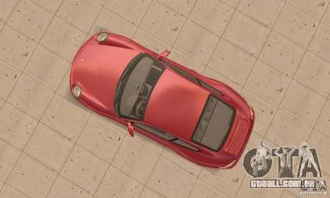 Porsche 911 (997) Carrera S v1.1 para GTA San Andreas vista direita