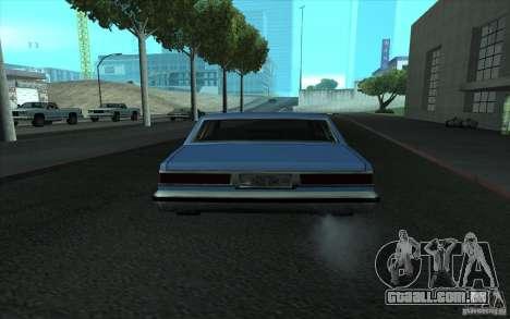 Civilian Police Car LV para vista lateral GTA San Andreas