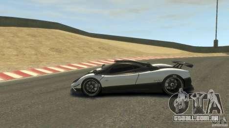 Pagani Zonda Cinque 2009 para GTA 4 esquerda vista