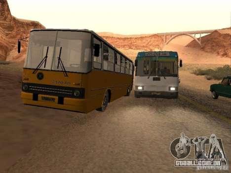 IKARUS 280.46 para GTA San Andreas interior
