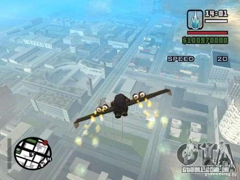Jetwing Mod para GTA San Andreas sétima tela