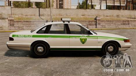 Novo laço cruzador ELS para GTA 4 esquerda vista