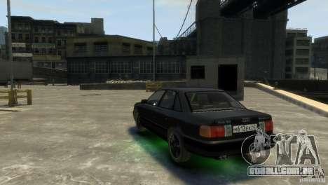 Audi 100 para GTA 4 vista direita