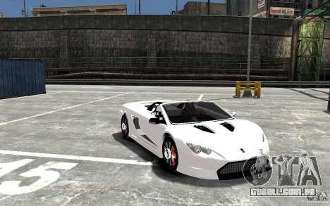 K1 Attack Concept para GTA 4 vista de volta