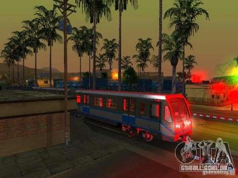 Novo sinal de trem para GTA San Andreas sétima tela