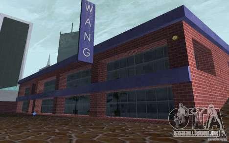 Vendedor de carros novos carros Wang para GTA San Andreas