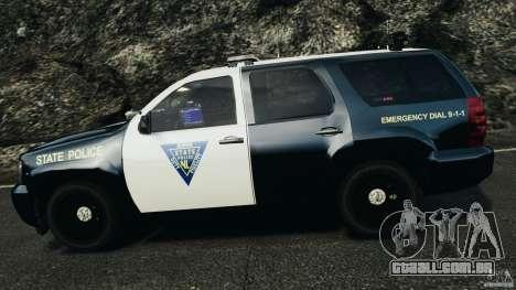 Chevrolet Tahoe Marked Unit [ELS] para GTA 4 vista inferior