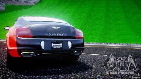 Bentley Continental SS 2010 Le Mansory [EPM] para GTA 4 rodas