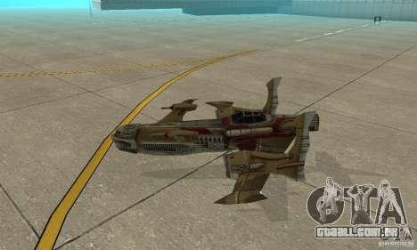 Hydra TimeShift Skin 1 para GTA San Andreas traseira esquerda vista