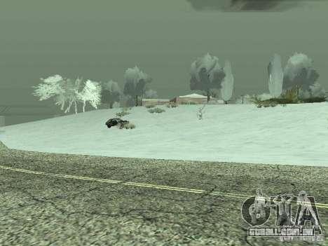 Frozen bone country para GTA San Andreas por diante tela