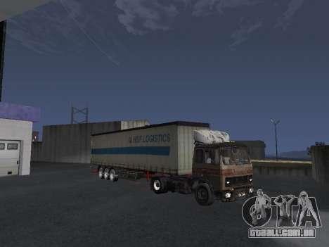 5551 MAZ Kolkhoz para GTA San Andreas vista inferior