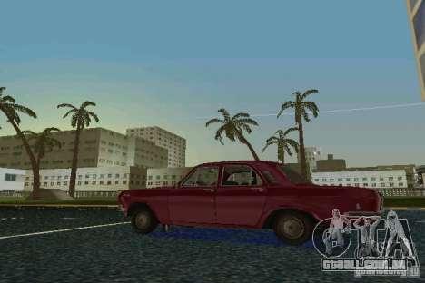 Volga GAZ 24 para GTA Vice City vista direita