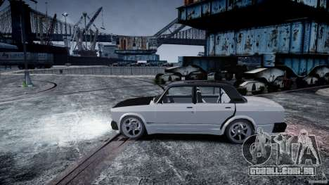 ВАЗ 2107 Drift para GTA 4 vista direita