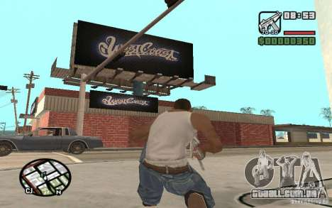 Um Paint Shop West Coast Customs para GTA San Andreas terceira tela