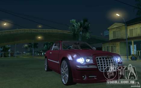 Chrysler 300c Roadster Part2 para GTA San Andreas vista traseira