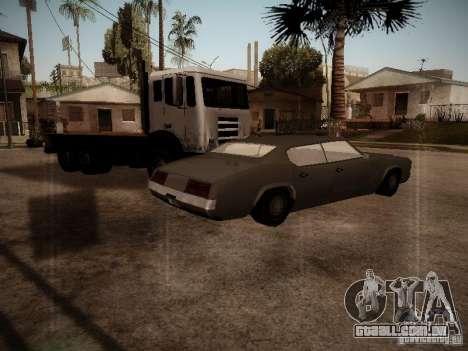 Impaler 1987 San Andreas Stories para GTA San Andreas traseira esquerda vista