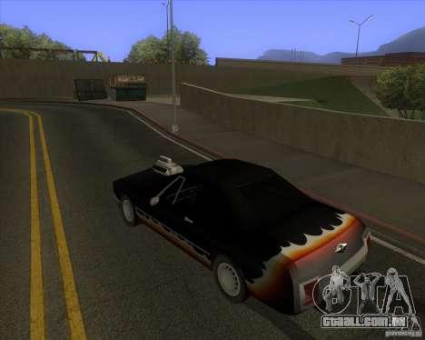 HD Diablo para GTA San Andreas vista direita
