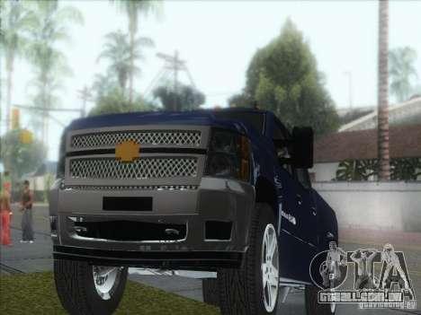 Chevrolet Silverado 1500 para GTA San Andreas vista traseira