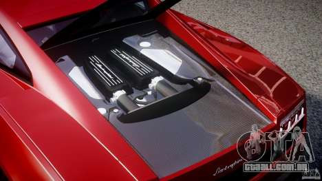 Lamborghini Gallardo LP570-4 Superleggera 2011 para GTA 4 vista superior