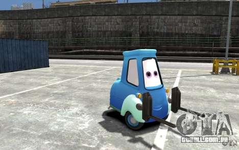 Guido de carros Mater-National para GTA 4 vista de volta