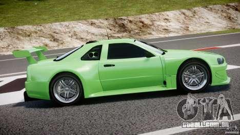 Nissan Skyline R34 v1.0 para GTA 4 vista superior