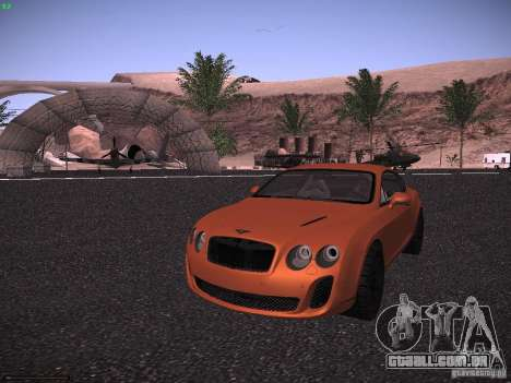 Bentley Continetal SS Dubai Gold Edition para GTA San Andreas