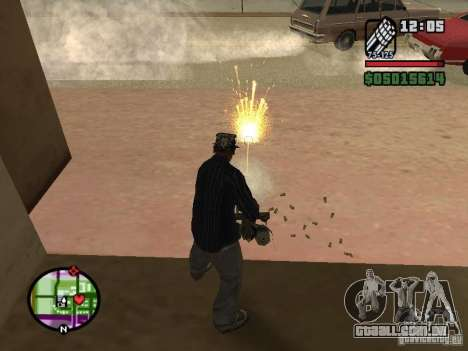Overdose effects V1.3 para GTA San Andreas oitavo tela