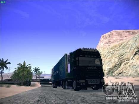 Scania R620 Dubai Trans para GTA San Andreas esquerda vista