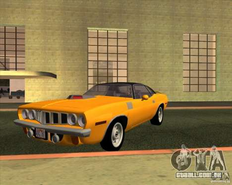 Plymouth Barracuda para GTA San Andreas