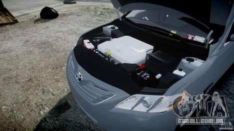 Toyota Camry 2007 (XV40) v1.0 para GTA 4 vista superior