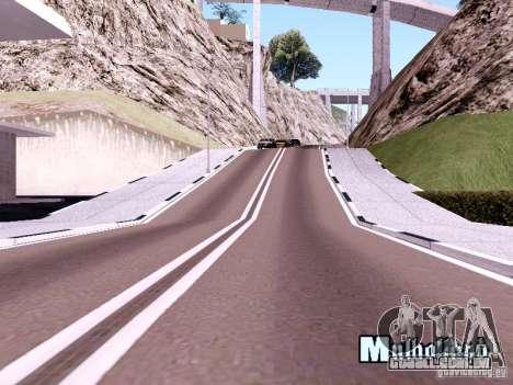 New Roads para GTA San Andreas sexta tela