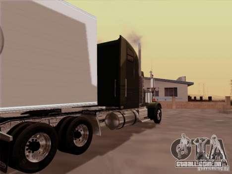 Freightliner FLD 120 Classic XL para GTA San Andreas vista direita