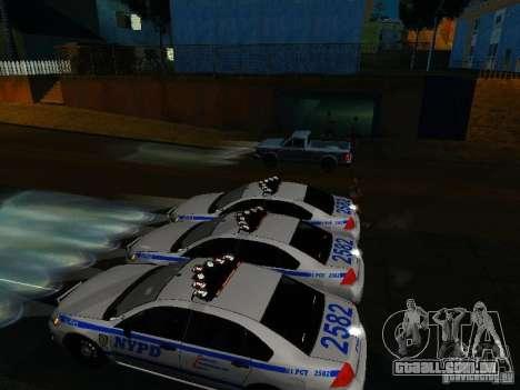 Chevrolet Impala NYPD para o motor de GTA San Andreas