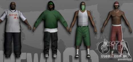 Beta Peds para GTA San Andreas terceira tela