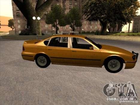 Táxi de GTA IV para GTA San Andreas esquerda vista