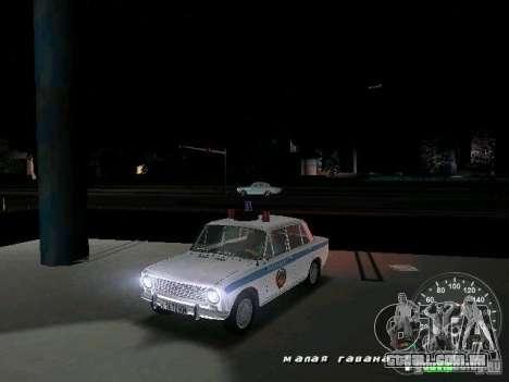 Polícia de 2101 VAZ para GTA Vice City