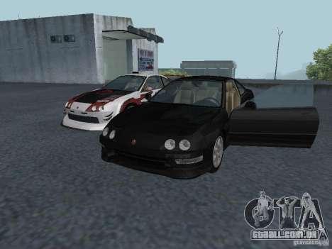 Acura Integra Type-R para GTA San Andreas esquerda vista