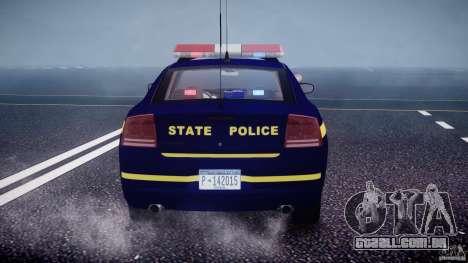 Dodge Charger NY State Trooper CHGR-V2.1M [ELS] para GTA 4 rodas