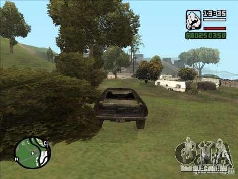 Malice from FlatOut 2 para GTA San Andreas vista direita