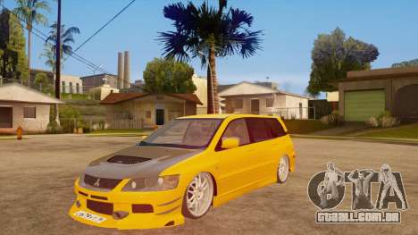 Mitsubishi Lancer Evolution IX Wagon MR Drift para GTA San Andreas