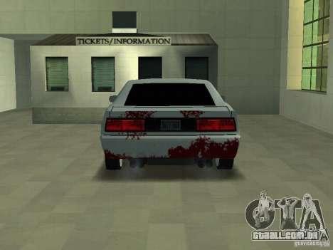 Sangue em máquinas para GTA San Andreas segunda tela