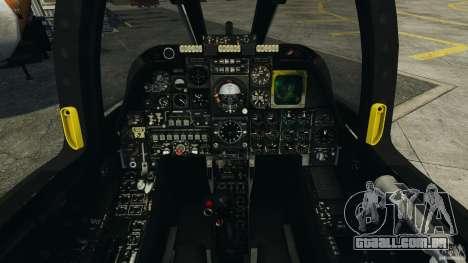 A-10A Thunderbolt II para GTA 4 vista de volta