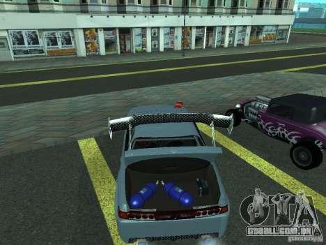 Toyota Carina ED  DRFT para GTA San Andreas vista direita