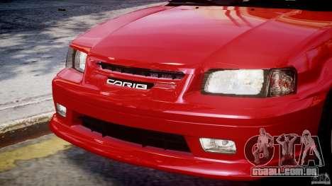 Toyota Sprinter Carib BZ-Touring 1999 [Beta] para GTA 4 motor