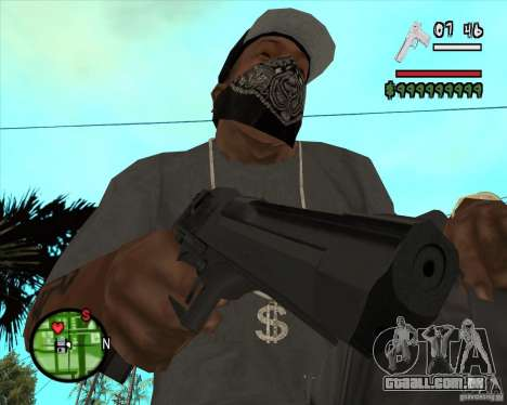 Desert Eagle HD para GTA San Andreas