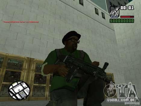 Black Weapon by ForT para GTA San Andreas terceira tela
