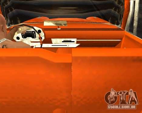 Plymouth Belvedere para GTA San Andreas vista direita