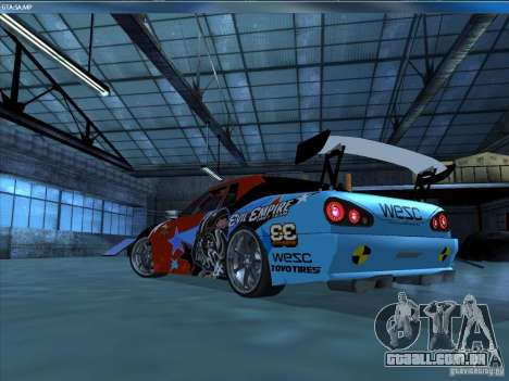 Vinil EvilEmpire para GTA San Andreas traseira esquerda vista