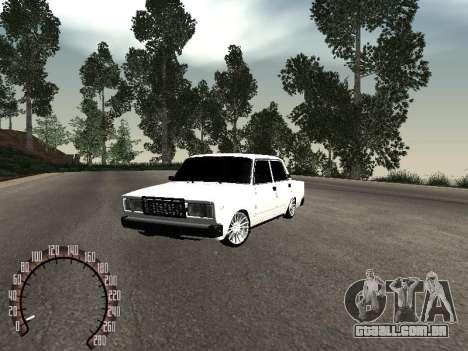 Vaz 2107 BPAN para GTA San Andreas